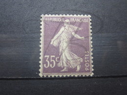 VEND BEAU TIMBRE DE FRANCE N° 136 , X !!! - 1906-38 Semeuse Camée