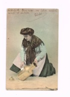 Femme Curant Un Pot à Lait.Expédié De Namur à FRaire (Walcourt) - Femmes