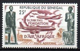 Col15 Sénégal 1962 PA  N° 36  Neuf X MH Cote : 1,00€ - Senegal (1960-...)