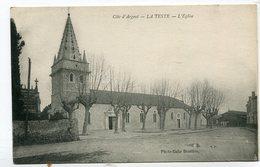 CPA  33 : LA TESTE    église  A  VOIR  !!!!!!! - France