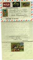 Aérogramme Calédonie 1982 - Pilou - Voyagé - Neukaledonien