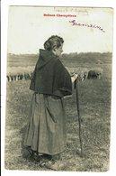 CPA - Carte Postale-Belgique - Une Paysanne Gardant Des Moutons-1905 VM4525 - Paysans