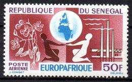 Col15 Sénégal 1964 PA  N° 42 Neuf X MH Cote : 2,00€ - Senegal (1960-...)