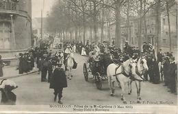 03 MONTLUCON FETES DE LA MI-CAREME Moulay-Hafid à Montluçon  3 Mars 1913 TRES RARE - Montlucon
