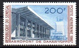 Col15 Sénégal 1967  PA  N° 68 Neuf X MH Cote : 4,50€ - Senegal (1960-...)