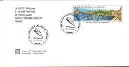 PAP - Carte-lettre Philaposte La Rochelle Avec BT Plume Salon D'automne 2009 - Prêts-à-poster:  Autres (1995-...)