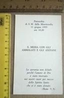 SANTINO  PARROCCHIA S.M. DELLA MISERICORDIA 11 GIUGNO 1995  (54) - Santini