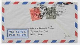 MAROC ESPAGNOL / TANGER - 1951 - ENVELOPPE Par AVION => PARIS - Marocco Spagnolo