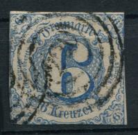 Thurn Und Taxis: 6 Kr. MiNr. 33 1862-1864 Gestempelt / Used / Oblitéré - Tour Et Taxis