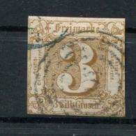 Thurn Und Taxis: 3 Sgr. MiNr. 31 1862-1864 Gestempelt / Used / Oblitéré - Tour Et Taxis