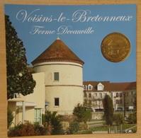 Médaille Touristique Voisins Le Bretonneux 2010 Ferme Decauville - Monnaie De Paris