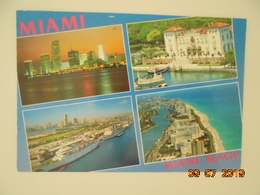 Miami Beach, Villa Vizcaya, Cruise Port. Kina Postmarked 2005. - Miami Beach