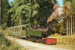(57) ABRESCHWILLER  Locomotive Mallet Chemin De Fer Forestier Railway Train Vapeur (Moselle) - Other Municipalities