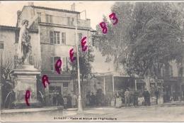 83 SANARY Place Et Statue De L'Agriculture - Sanary-sur-Mer