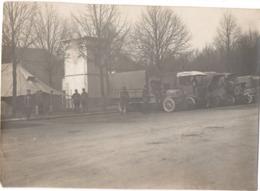Photo Chalons Sur Marne C.1915 Guerre 1914-1918 - Camion Convoi Militaire Parc 101 Tente Anglaise - Guerre, Militaire