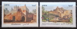 Libya 2015 NEW MNH Complete Set 2v. - Famous Ancient Palace & Fortress - Libië