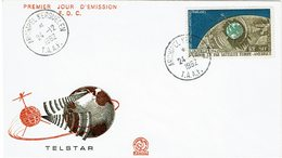 1962 Telstar Special FDC - FDC