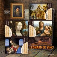 Togo 2019 Leonardo Da Vinci 500th Aniv Italy Paintings S/S TG190235 - Sin Clasificación