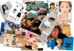 Lot Japon 50 Cartes Différentes Femmes - Voir Scan - Japan