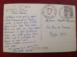 Champaissant Moulin De La Louvresse RARE Cachet St Cosme De Vair - Francia