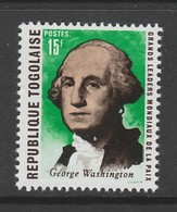 TIMBRE NEUF DU TOGO - GEORGE WASHINGTON N° Y&T 642 - George Washington