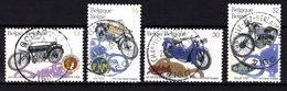 2615/18 Motos Anciennes Belges Oblitéré  -  Cote 5,00 € - Belgique