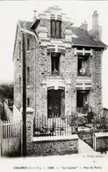 """D77 - CHAUMES - 1908 - VUE ANIMEE DE """" LA LOUISA """", RUE DE PARIS - Autres Communes"""