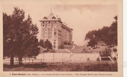 ** 66  ***  FONT ROMEU  Le Grand Hotel Tennis - Neuve TB - France