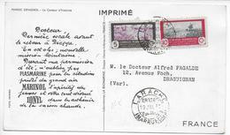 MAROC ESPAGNOL - 1951 - CARTE POSTALE MEDICALE De LARACHE => DRAGUIGNAN - Marocco Spagnolo