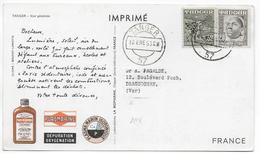 MAROC ESPAGNOL - 1953 - CARTE POSTALE MEDICALE De TANGER => DRAGUIGNAN - Marocco Spagnolo