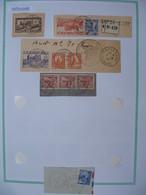 Tunisie Lot De Timbres, Oblitération choisies DeGafsa-Gare   Voir Scan - Tunisia (1888-1955)