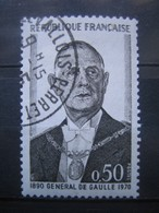 FRANCE    N° 1698 - OBLITERATION RONDE - Francia