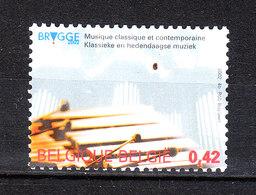 Belgio  - 2002. Bruges, Capitale Culturale Della  Musica: Capitale Culturelle De La Music. MNH - Musica