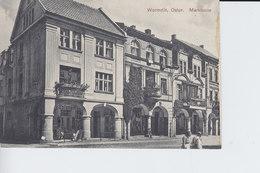 Ak Wormditt, Marktseite, 1932 - Ostpreussen
