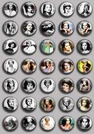 Sophia Loren Movie Film Fan ART BADGE BUTTON PIN SET 1  (1inch/25mm Diameter) 35 DIFF - Cinema