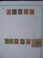 Tunisie Lot De Timbres, Oblitération choisies DeGabès    Voir Scan - Tunisie (1888-1955)