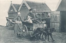 CPA - Pays-Bas -  Volendam, Hondenkar - Volendam