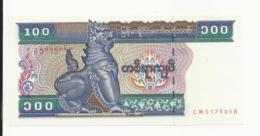 Myanmar 100 Kyats UNC - Myanmar