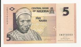 Nigeria 5 Naira 2006 UNC - Nigeria