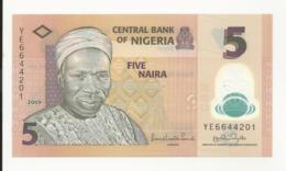 Nigeria 5 Naira 2009 UNC - Nigeria
