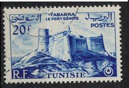 TUNISIE       N°  YVERT     377    OBLITERE       ( O   2/29 ) - Oblitérés