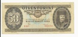 Hungary 50 Forint 1986 VF - Ungarn