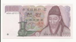 South Korea 1000 Won Almost UNC - Korea, South