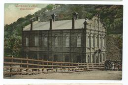 Postcard  Wales Llanhilleth Workman's Hall  Unused Monmouthshire   T.wares - Monmouthshire