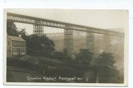 Postcard  Wales Crumlin Viaduct   Unused Monmouthshire   Viner Bromo Card Rp  Unused - Monmouthshire