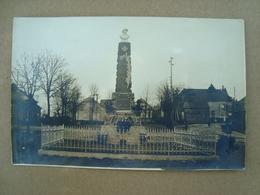 CP PHOTO MONUMENT AUX MORTS A DEFINIR - Photographs