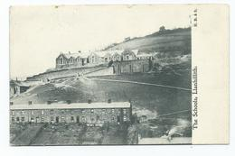 Postcard  Wales Llanhilleth The Schools Posted1904  Monmouthshire - Monmouthshire
