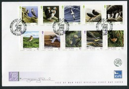 2006 Isle Of Man FDC / I.O.M. First Day Cover. Manx Bird Atlas RSPB - Isle Of Man