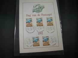 "BELG.1981 2008 FDC Filatelic Card : "" Journée Du Timbre / Dag Van De Postzegel "" - 1981-90"