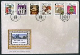 2013 Isle Of Man FDC / I.O.M. First Day Cover. Christmas - Isle Of Man